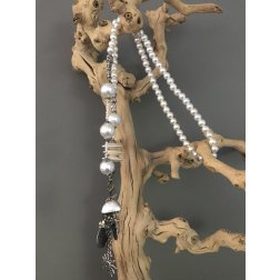Collier Pearl lang